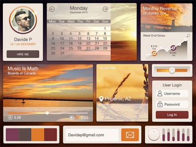 Desert-UI-Kit-Free-PSD1