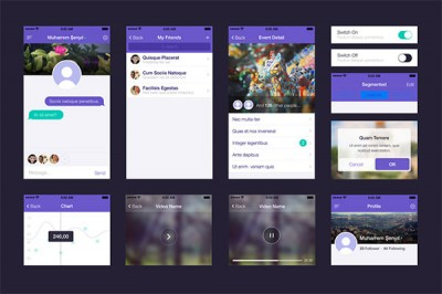 UI-set-for-app-design-PSD